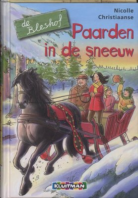 De Bleshof - Paarden in de sneeuw