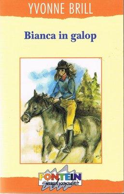 Bianca 1 - Bianca in galop