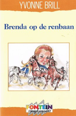 Brenda op de renbaan