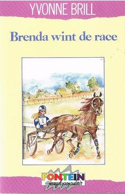 Brenda wint de race