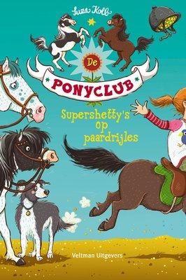 De Ponyclub - Supershetty's op paardrijles