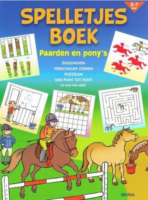 Spelletjes boek - Paarden en pony's