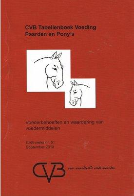 CVB Tabellenboek Voeding Paarden en Pony's